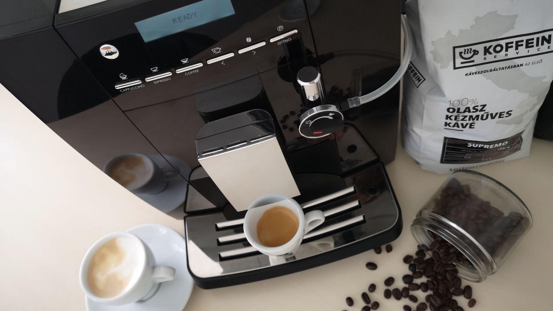 eszpresszo kávé